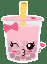 Pearl Milk Tea & Boba sticker #14624972