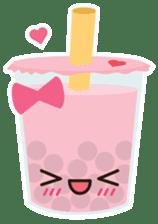 Pearl Milk Tea & Boba sticker #14624973