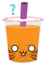 Pearl Milk Tea & Boba sticker #14624974
