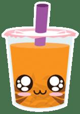 Pearl Milk Tea & Boba sticker #14624975