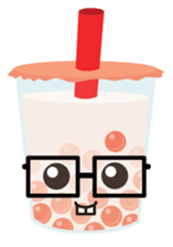 Pearl Milk Tea & Boba sticker #14624978
