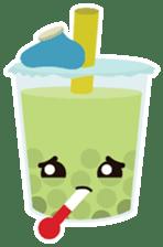 Pearl Milk Tea & Boba sticker #14624979