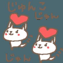 Junko cute cat stickers!