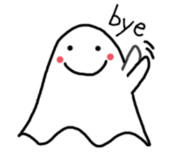 Little Cute Ghost sticker #14631742