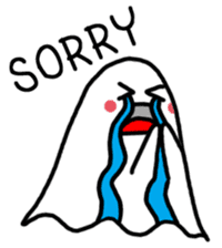 Little Cute Ghost sticker #14631756
