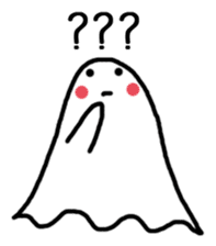 Little Cute Ghost sticker #14631757