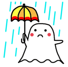 Little Cute Ghost sticker #14631759