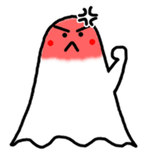 Little Cute Ghost sticker #14631762