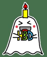 Little Cute Ghost sticker #14631766