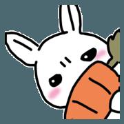 สติ๊กเกอร์ไลน์ Answer of rabbit