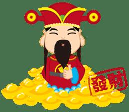 Fortune Fortune God sticker #14635336