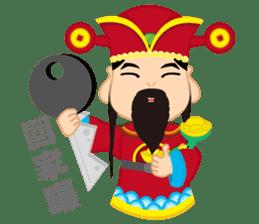 Fortune Fortune God sticker #14635347