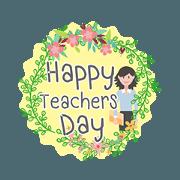 สติ๊กเกอร์ไลน์ สุขสันต์วันครู
