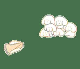 teraokas dog2 sticker #14644897