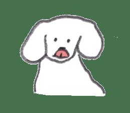teraokas dog2 sticker #14644899