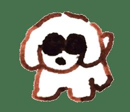 teraokas dog2 sticker #14644902
