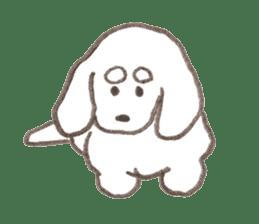 teraokas dog2 sticker #14644903