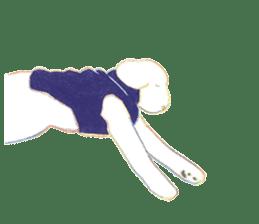 teraokas dog2 sticker #14644907