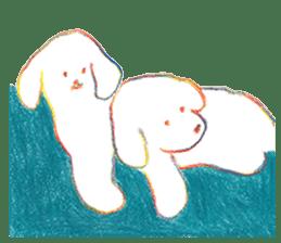 teraokas dog2 sticker #14644909