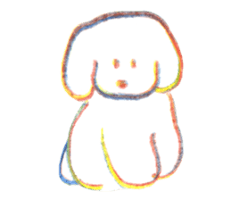 teraokas dog2 sticker #14644914