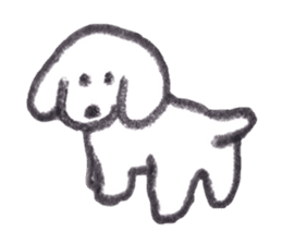 teraokas dog2 sticker #14644915