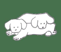 teraokas dog2 sticker #14644921