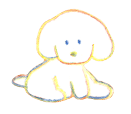 teraokas dog2 sticker #14644923