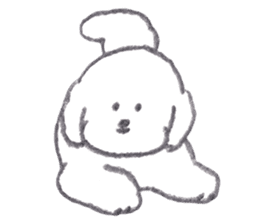 teraokas dog2 sticker #14644925
