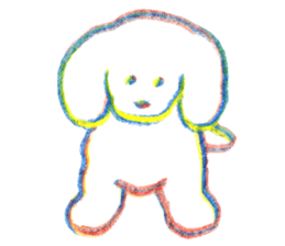 teraokas dog2 sticker #14644930