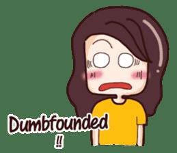 Nine blame Mom (English) sticker #14656179