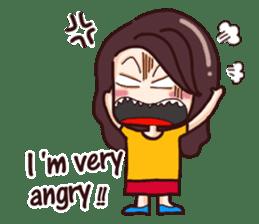 Nine blame Mom (English) sticker #14656180