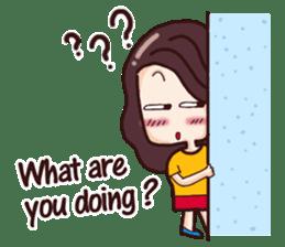 Nine blame Mom (English) sticker #14656182