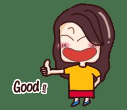 Nine blame Mom (English) sticker #14656187