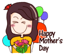 Nine blame Mom (English) sticker #14656204