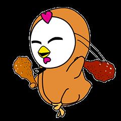 """Hoodie chicken"""" Yapee"""""""