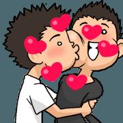 สติ๊กเกอร์ไลน์ Moving GAY'S LOVE VOICES 3 Cute ver.