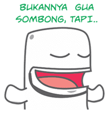 Sultan & Friends: GHOSTY's COMIC sticker #14666261