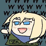 สติ๊กเกอร์ไลน์ ZKAI Sticker