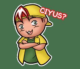 Jordi, Anak Sok Gaul 3 sticker #14674215