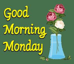 Good Morning Monday sticker #14675207