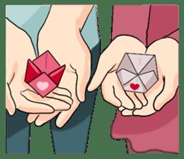 The Valentine's Couple sticker #14681504