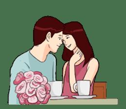 The Valentine's Couple sticker #14681515