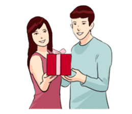 The Valentine's Couple sticker #14681522