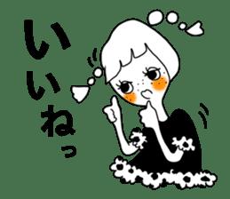 TYPE-B-girl sticker #14690702
