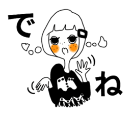 TYPE-B-girl sticker #14690704