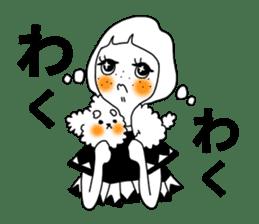 TYPE-B-girl sticker #14690712