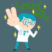 สติ๊กเกอร์ไลน์ Dr.Smart&RN.Smile