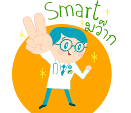 Dr.Smart&RN.Smile sticker #14692341