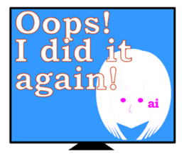 AI with a ego appeared! Girl type! sticker #14700758