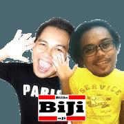 สติ๊กเกอร์ไลน์ Billie & Oji (BiJi)